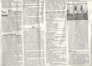 Presseausdruck Fukushima Mahnwache 2014